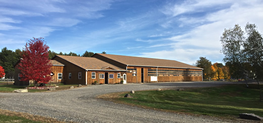 TNT Equine Clinic facility in North Berwick, Maine