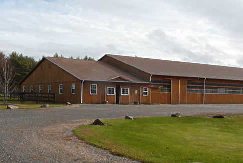 TNT Equine Clinic's new facility in North Berwick, Maine